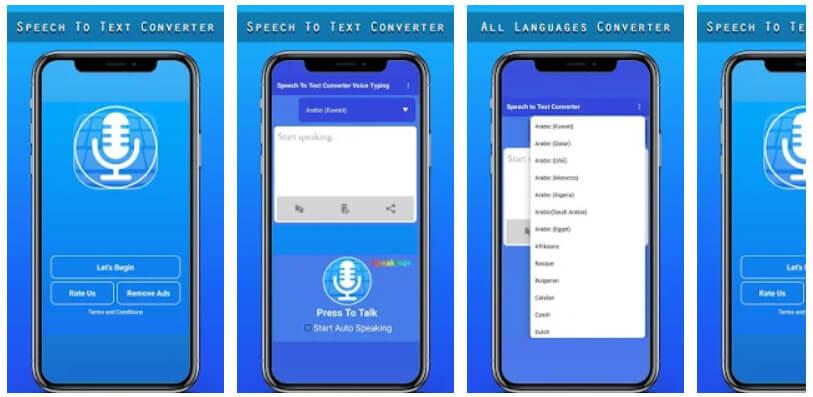conversor de voz a texto