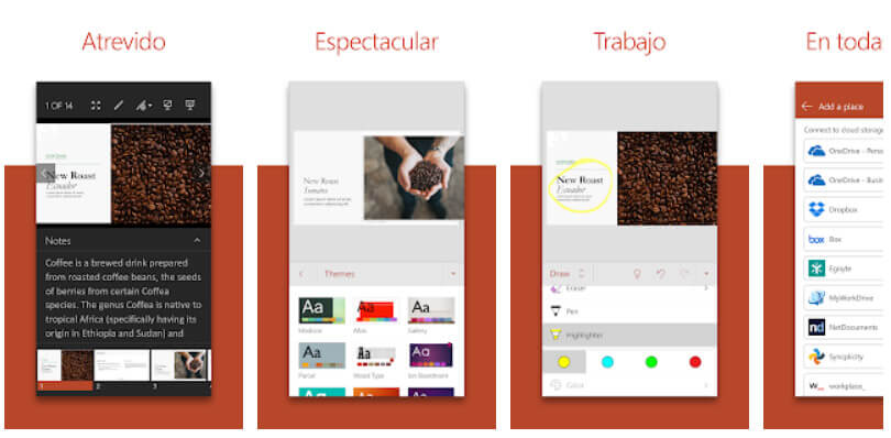 PowerPoint para Android