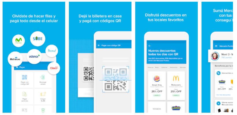 App Mercado Pago Android - Recargar Crédito