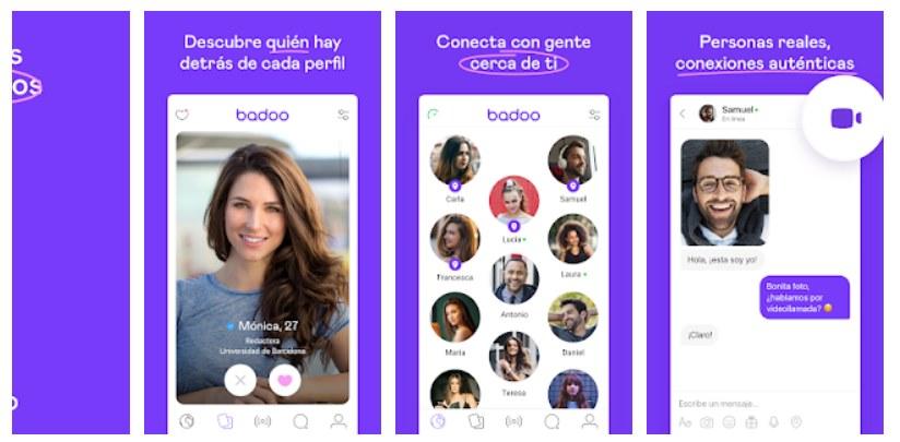 Badoo app para encontrar pareja