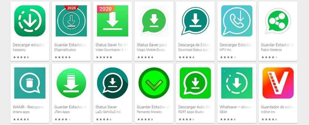 mejores aplicaciones android para descargar estados