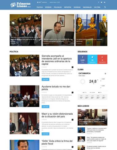 Diario Digital Primeras Lineas