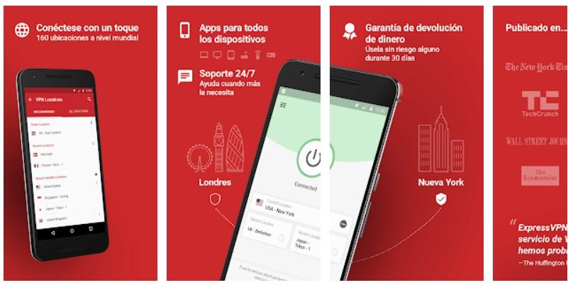 ExpressVPN Gratis para Android