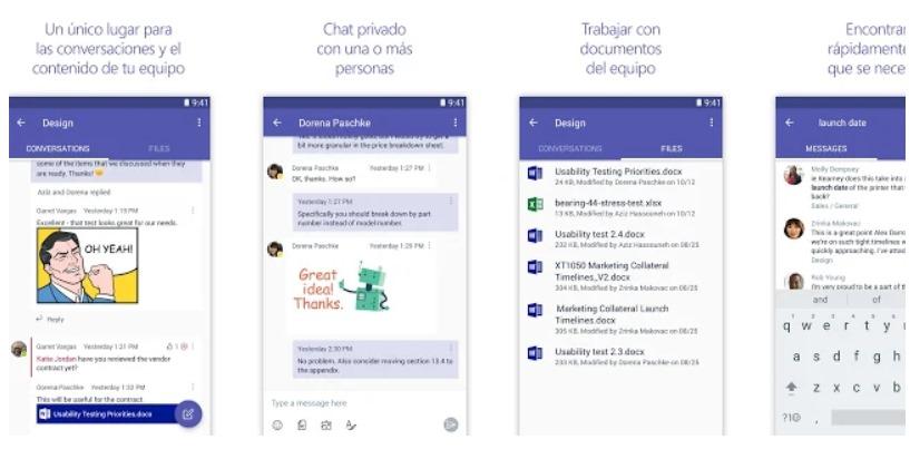 Microsoft Teams para Android