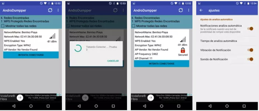 androdumpper wifi wps connect