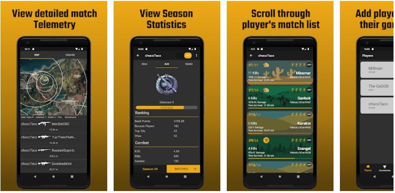 Descargar Tracker para PUBG Mobile