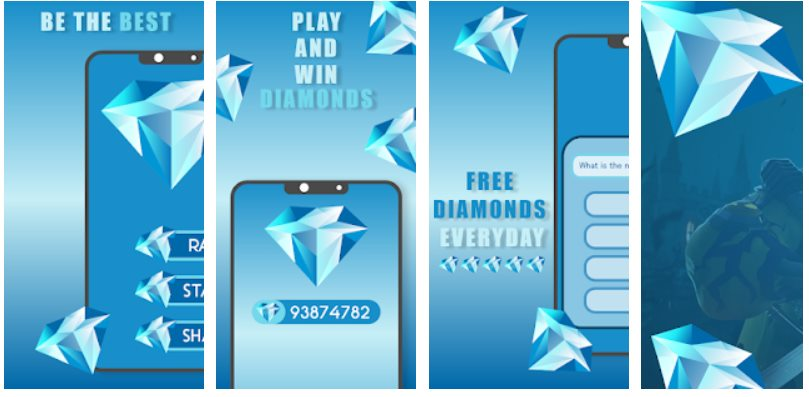Quiz Diamonds gemas free fire