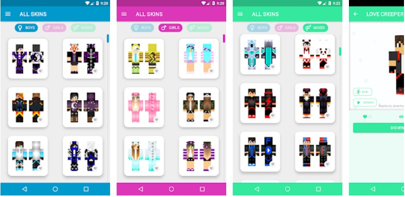 App World of Skins Android