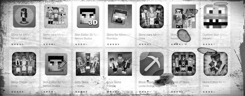 Apps de Skins de Minecraft