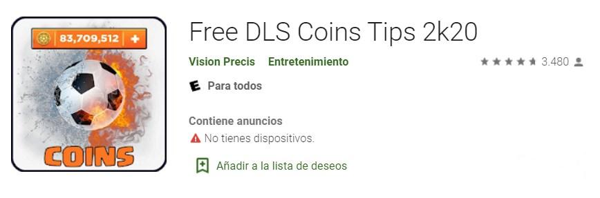 Descargar Free DLS Coins Tips 2k20 Gratis