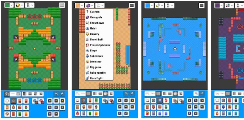 app per creare le mappe di Brawl Stars