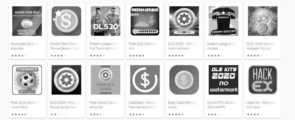 Apps para Hackear Dream League Soccer
