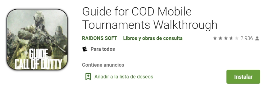 Desbloquear Clases de COD Mobile