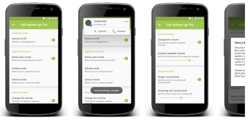 app para subir el volumen de las llamadas
