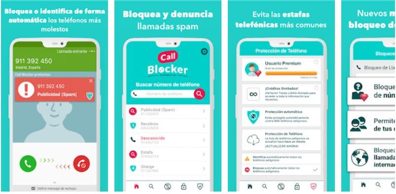 descargar app para bloquear números de teléfono privados