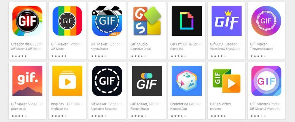 mejores aplicaciones para crear gifs