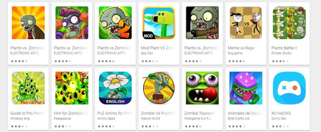 hacks para plants vs zombies android