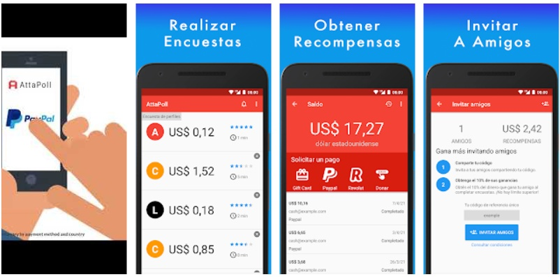 Ganar monedas gratis en PES Mobile con AttaPoll