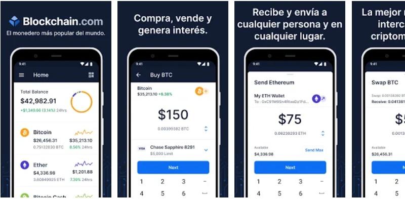 Blockchain para moviles