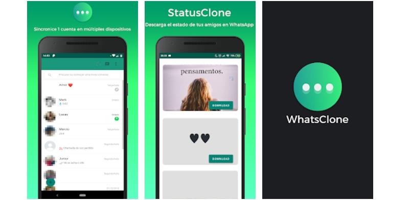 Espiar Whatsapp con WhatsClone