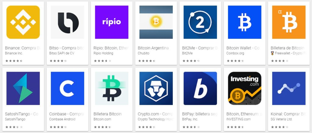 Mejores Aplicaciones para Comprar Criptomonedas